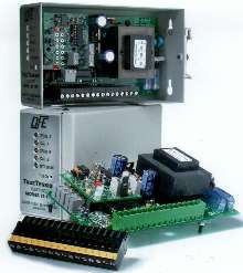 Tension Transducer Amplifier operates with 115/230 V input.
