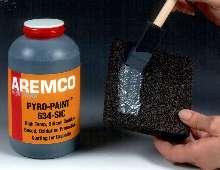 Paint prevents high-temp oxidation of graphite foam.