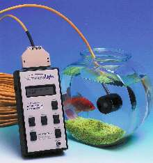 Radiometer permits underwater light measurements.