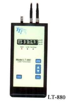 Laser Tachometer operates at 40 kHz.