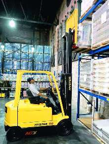 Electric Lift Truck is powered by AC technology.