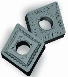 Coated Inserts are suited for use with high-temp alloys.