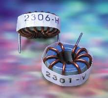Toroid Inductors provide noise suppression.
