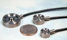 Subminiature Load Cells suit compression applications.