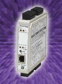 RTD Input Modules suit remote I/O functions.