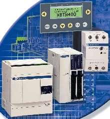 PLC/HMI Solution provides standalone machine control.