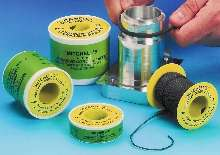 Abrasive Cords and Tapes debur curved surfaces and holes.