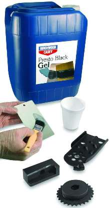 Blackening Gel works on iron and steel substrate parts.