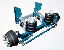Steerable Axles offer 9,000 lb capacity.