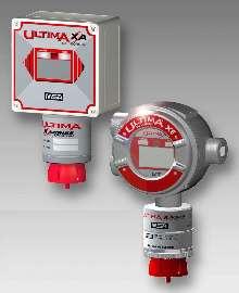 Gas Monitors utilize 0-10 ppm hydrogen fluoride sensor.