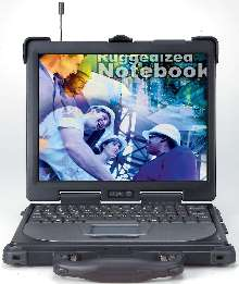 Notebook Computer handles all weather/terrain environments.