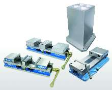 Vises offer repeatable part clamping solutions.