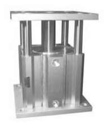 Pneumatic Lift Table has 125 mm bore size.