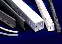 Wiring Duct comes in rigid and flexible models.