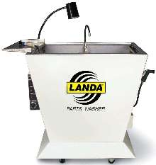 Parts Washer Sink features stainless steel construction.