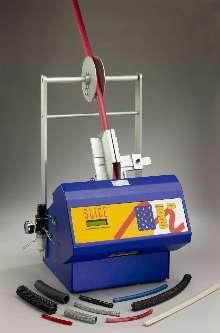 Cutting Machine cuts tubing, conduit, and wire.