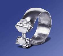 Exhaust Clamps compensate for misalignments.