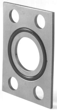 Seal Plate with Support Ring facilitates surface joining.