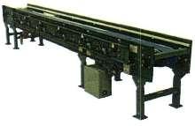 Accumulating Conveyor has roller-less design.