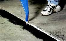 Flexible Epoxy Sealant is suited for expansion joints.