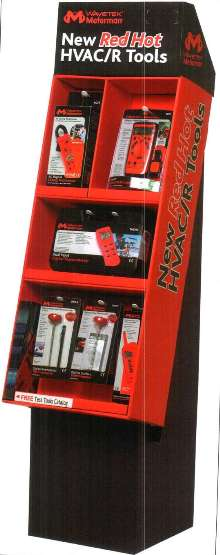 Tool Display is suited for HVAC/R professionals.
