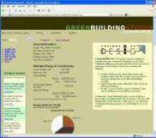 Web Service provides energy analysis.