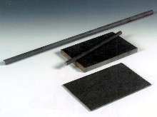 Glass-Ceramic withstands temperatures to 700°F.
