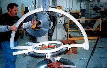 Coil Manipulator helps maintain operator safety.
