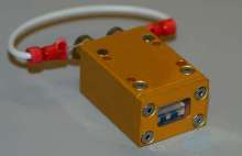 Diode Laser Bar features sealed package and high power.