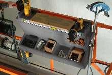 Workstations are designed for Pro-Fit(TM) Scissor Lifts.