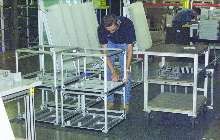 Frame Fabrication Service builds to customer specifications.