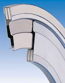 Steel Disk Seals protect roller bearings from liquids.
