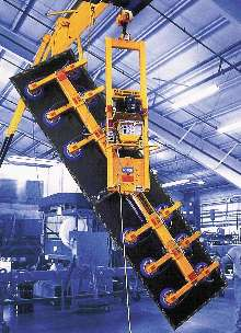 Vacuum Lifter lets user pick up, rotate, and install panels.