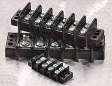 Terminal Blocks are rated up to 600 V.