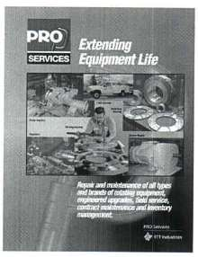 Repair Service maintains rotating equipment.