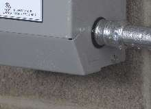 Raintight Couplings feature external inspection aid.