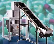 Industrial Shredder breaks down pharmaceutical waste.