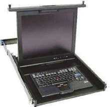 Flat Panel Console Kit offers space-saving monitor.
