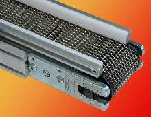 Belt Conveyor withstands more than 1,000°F.