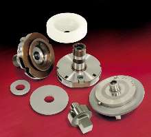 Tooling System facilitates fast tool changes.