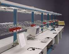 Modular Workstations can be assembled with minimal effort..