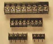 Terminal Blocks are available in PC-mount style.