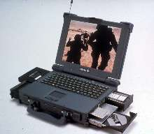 Ruggedized Laptop meets military specifications.
