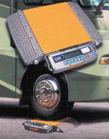Portable Wheel Scale prevents overloading axles and tires.