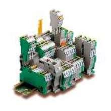 Terminal Blocks allow for straightforward plugging.