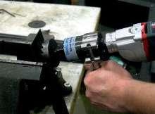 Speed Reducer facilitates hole making in sheet metal.