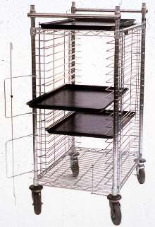 Tray Cart suits electronic material handling operations.
