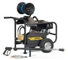 Cold Water Pressure Washer offers 5,000 psi cleaning power.