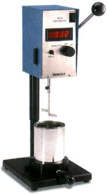 Viscometer has centipoise read-out capability.