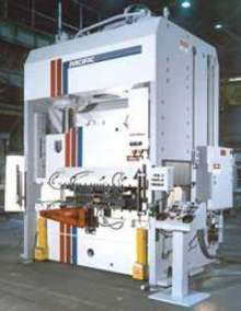 Hydraulic Presses feature heavy-duty construction.